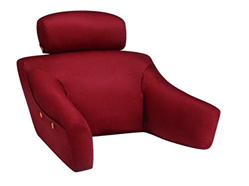 BedLounge Hypoallergenic Microsuede Back Support Pillow