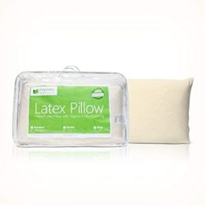 Organic Textiles All Natural Premium Latex Pillow