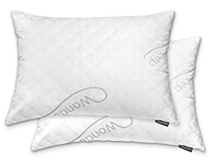 WonderSleep PREMIUM Adjustable Loft Shredded Hypoallergenic Memory Foam Pillow