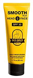 Bee Bald Smooth Plus Daily Moisturizer 30 SPF