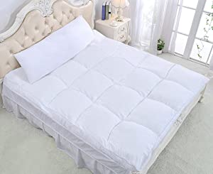 "QUEEN ROSE 3"" Premium Mattress Topper/Feather Bed"