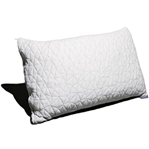 Coop Home Goods PREMIUM Adjustable Loft Shredded Hypoallergenic Certipur Memory Foam Pillow
