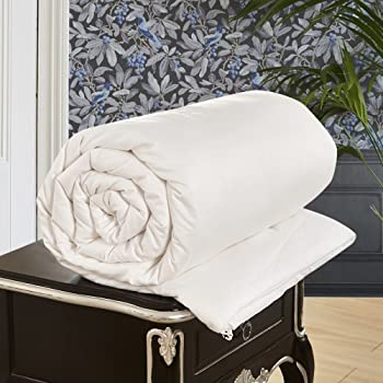 LilySilk All Season Luxury Silk-Filled Comforter with Cotton Covered 100% Silk Duvet