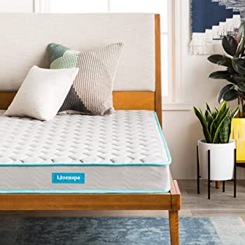 LININSPA 6-Inch Innerspring Mattress