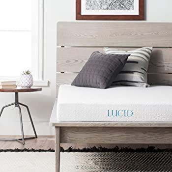 LUCID 5-Inch Gel Memory Foam Mattress