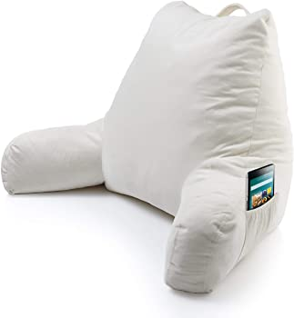 Foam Reading Pillow with Arm Pocket