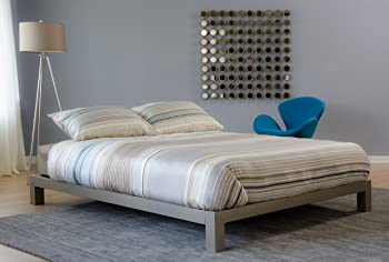 In Style Furnishings Aura Modern Platform Bed Frame