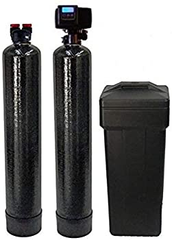 ABCwaters Built Fleck 5600SXT 48,000 Black Water Softener
