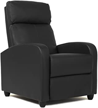 BestMassage Wingback Recliner Chair