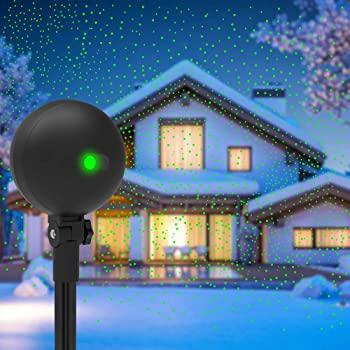 Auxiwa Christmas Lights Projector Laser Light Xmas Spotlight Projectors