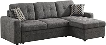 Gus Sectional Sofa with Pull-Out Bed