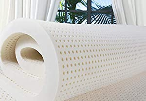 """PlushBeds 3"""" Medium-Firm Natural Talalay Latex Topper"""