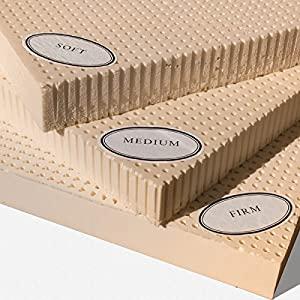100% Natural Latex Mattress Topper – Medium