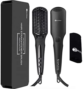 Bearmoo Brush Hair Straightener