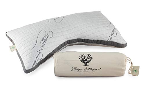 Luxury Side Sleeper Pillow with Curved Pillow Design