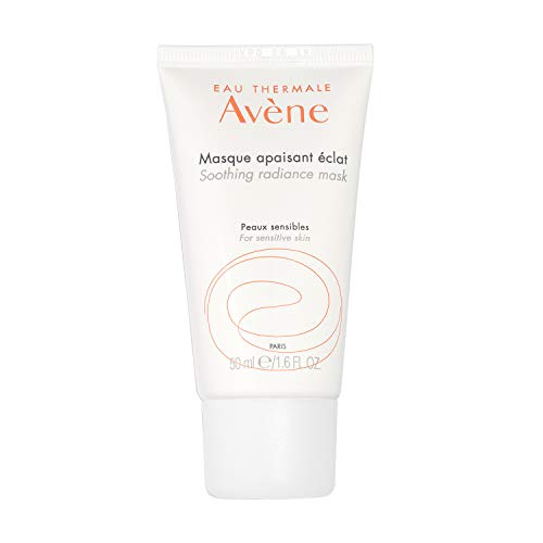 Avene Soothing Radiance Mask, Deep Hydration for All Skin Types