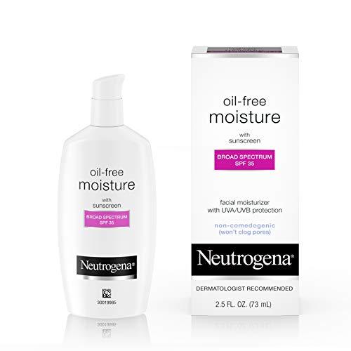 Neutrogena Oil-Free Daily Long-Lasting Facial Moisturizer & Neck Cream