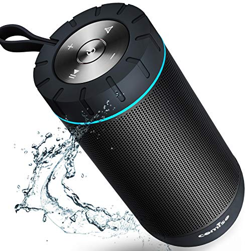 COMISO Bluetooth Speaker Waterproof IPX7