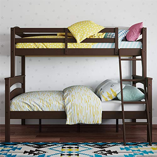 Dorel Living Brady Solid Wood Bunk Beds